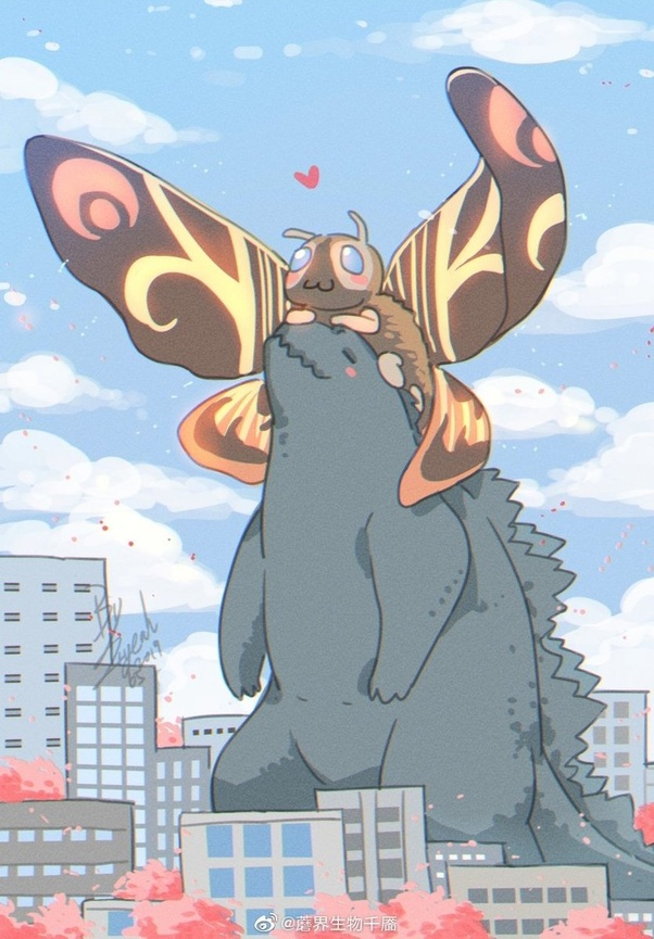 Cute Anime Nsfw Wallpaper Why Does Mothra Even Care About Godzilla Quora