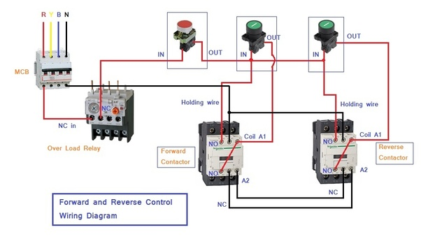 wiring diagram reversing circuit 120 240 what is a forward motor control quora read here reverse starter and