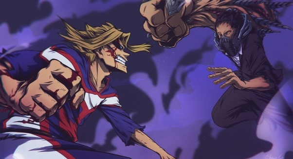 was all might vs