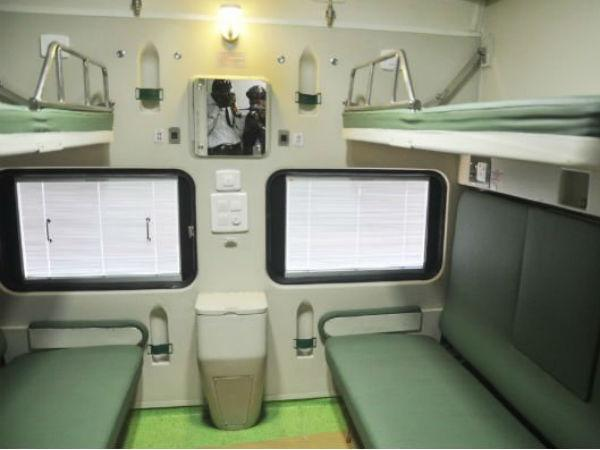 If I book a first class AC ticket from IRCTC, do I get a 'coupe (for 2 people)' or a 'cabin (for 4 people)'? - Quora