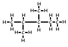 How to find the chemical structure of 2 3-dimethylpentane