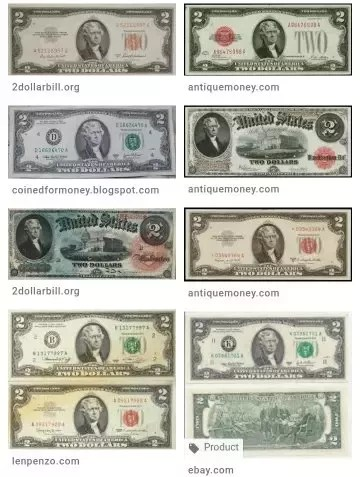 1976 2 Dollar Bills Worth : dollar, bills, worth, Dollar, Jefferson, Quora