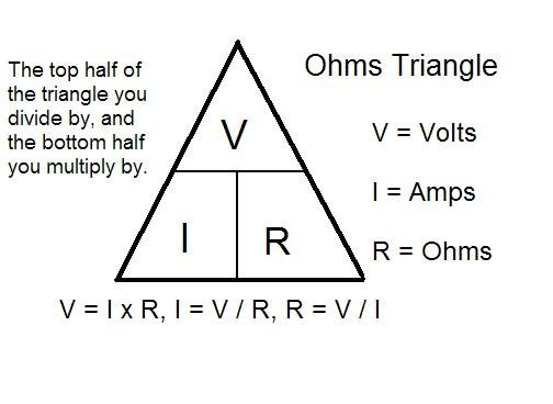 What is the current flowing through the 2 Ohm resistor