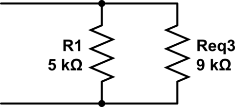 How to find the total resistance of this circuit diagram