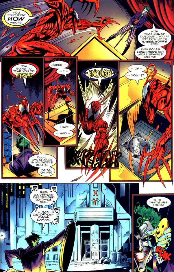 Carnage Vs Joker : carnage, joker, Carnage, Joker, Teamed, Quora