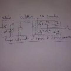 Single Phase Ac Motor Forward Reverse Wiring Diagram Sony Cdx Gt230 How To Convert The Three Quora My Phone Camera Is Not Too Good As Well Handwriting Hope You Understand Picture And I Haven T Shown Firing Circuit For Simplicity