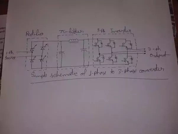 wiring diagram for forward reverse single phase motor towing relay how to convert the three quora as you can control output voltahe and frequency very easily even add remote if interested here is circuit