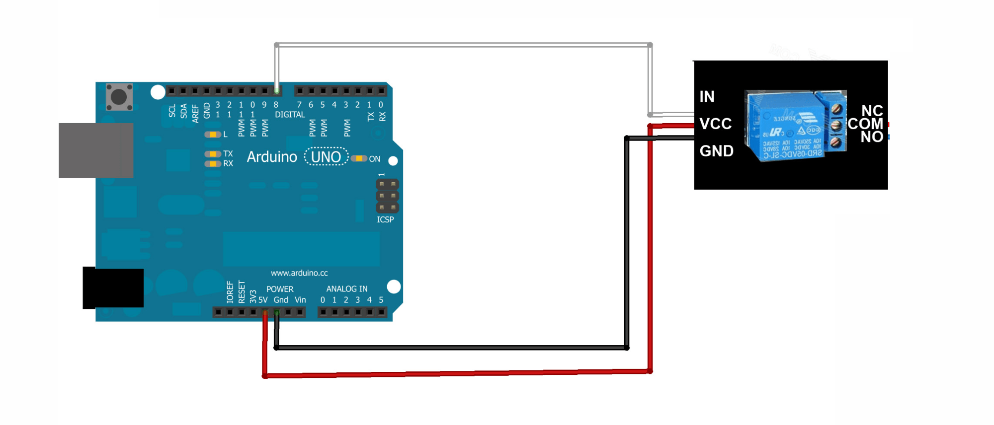 hight resolution of how to make an automatic ac switch using arduino uno which can turn on and off at a particular set time quora