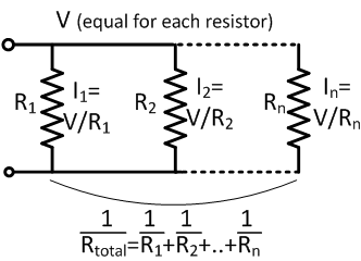 How to calculate total resistance of parallel delta
