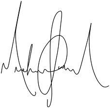 What do I do if I can not replicate my signature exactly