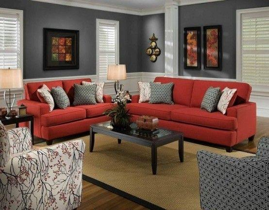 black and red living room furniture long skinny what are some decorating ideas quora use dark colors on the walls look good with cherry gray accessories to know more about you