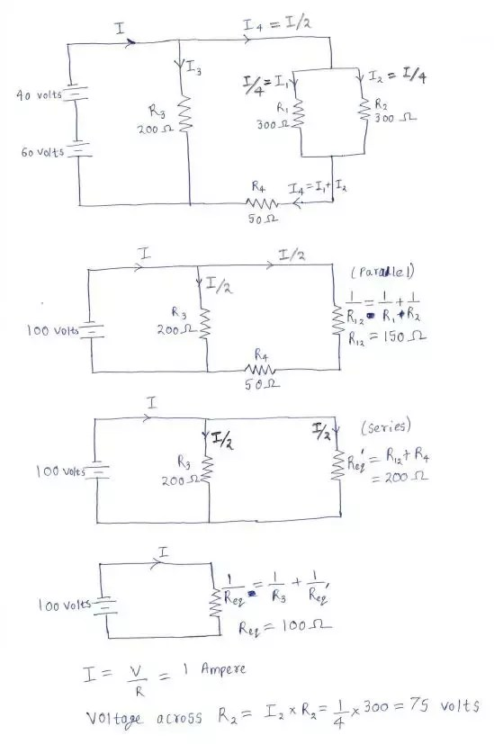 How To Find The Voltage Drop Across A Resistor Quora