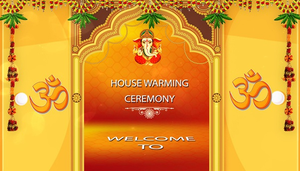 invitation cards for house warming