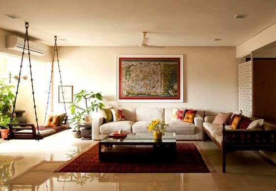 living room design indian style 5x7 area rug in what are some interior ideas quora neutralize an styled with the use of a neutral palette and incorporating contemporary pieces let elements come to life