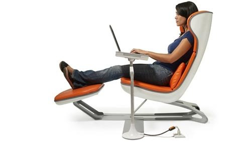 recliner chair laptop stand floor chairs what is the most comfortable design for using a quora 2 table this some sort of clamp on looks like good combination with that