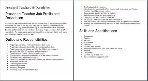 What Is A Job Description? Quora