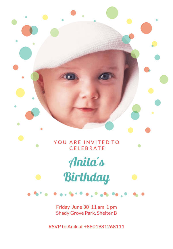 how to create birthday invites for kids