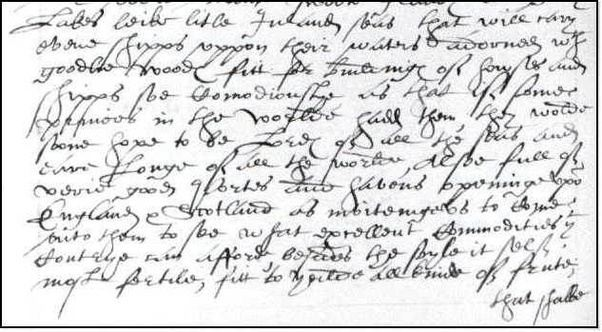 Why is handwriting from 4 centuries ago so hard to read