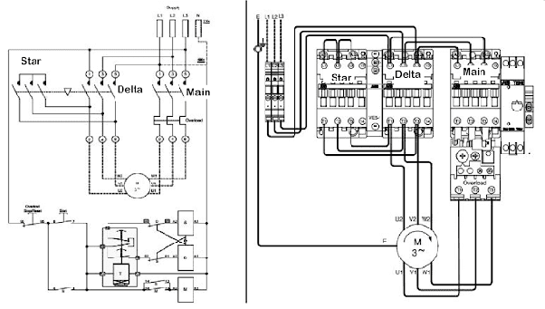 Star Delta Wiring Diagram In Pdf