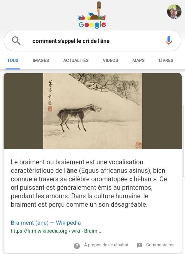 Comment S Appelle Le Cri Du Loup : comment, appelle, Comment, S'appelle, L'âne, Quora