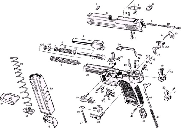 How did people learn how to disassemble a rifle before the