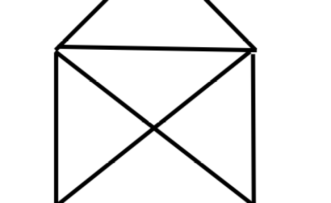 How To Draw These 2 Shapes Without Lifting Your Pencil Off