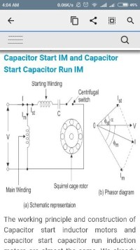 A Ceiling Fan Uses Capacitor Start Motor | www ...