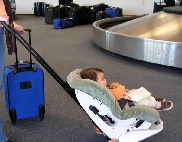 What's the best 'carseat strategy' for traveling by plane ...