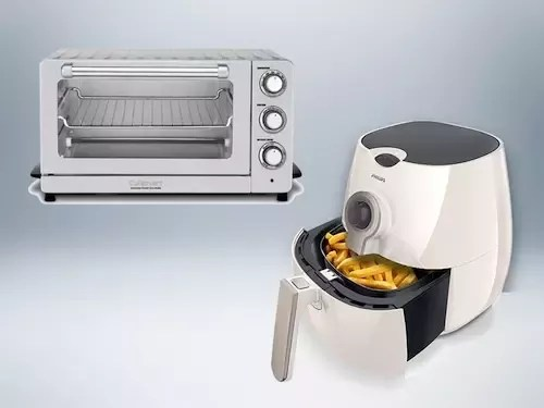 difference between an airfryer