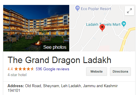 What Are The Best Hotels In Ladakh India Quora
