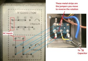 How to reverse the rotation of single phase 220v motor  Quora