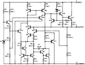 How does a linear voltage regulator work (LM7805)? How