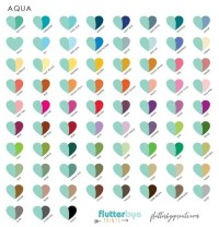 What are some colors that go with aqua? - Quora