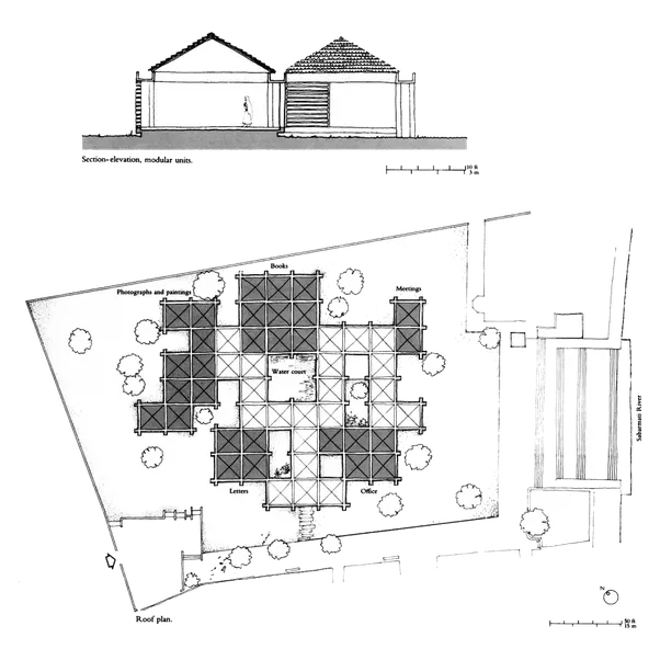 What is special about architect Charles Correa's designs