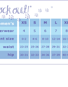Above you  ll probably want to buy some underwear too so the women  size chart shown can be very useful with this also is there  for men clothing  am rh quora