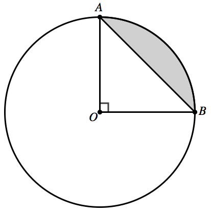 Physics: A body moves on a quarter circle of radius r