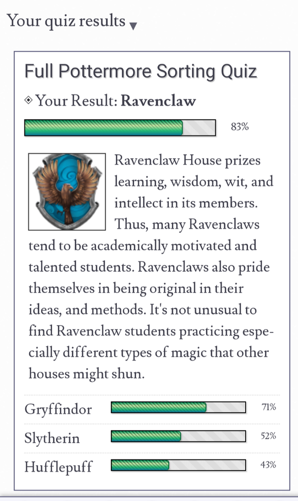 Pottermore House Quiz All Questions : pottermore, house, questions, People, Pottermore, Sorting, Quiz,, Agree, House, Sorted, Into?, Quora