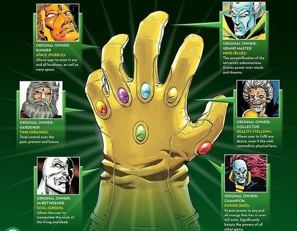 Marvel Infinity Stones Colors