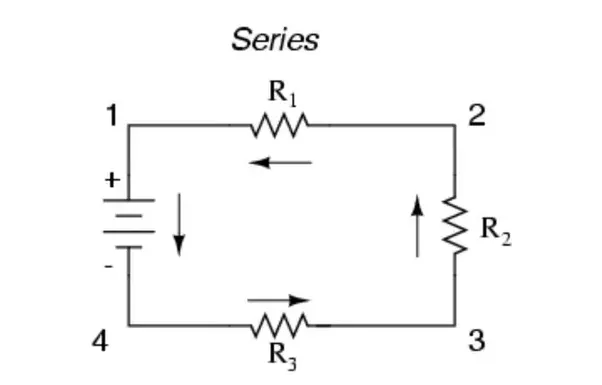 How to identify whether resistors are in parallel or