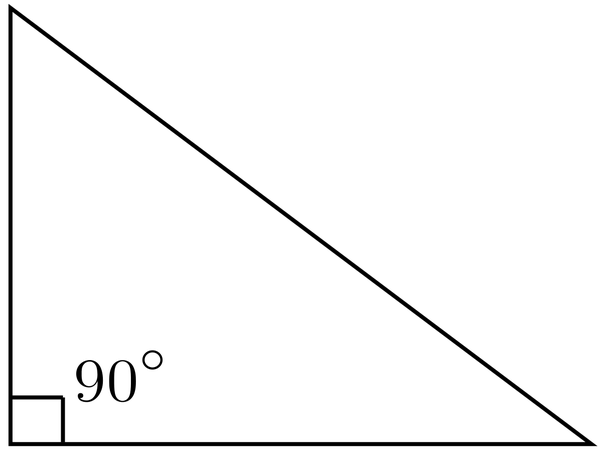One of the acute angles of a right triangle is 60 degrees