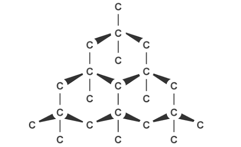 If diamond is a covalent compound, why does it have a high