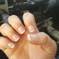 Can you do a French manicure on short nails? - Quora