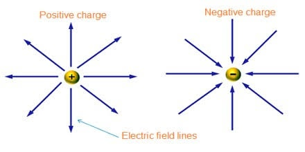 what do the lines represent in an electric field diagram monocot root cross section difference between a uniform and non some examples of are