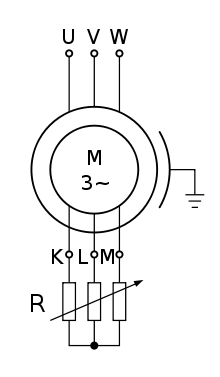 Why is an induction motor called a rotating transformer