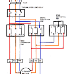 Star Delta Wiring Diagram Control Honeywell Thermostat Wire Can You Show A Connection For Motor Quora Images From Google