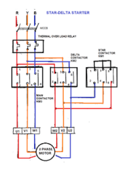 star delta wiring diagram control different parts of plant can you show a connection for motor quora images from google