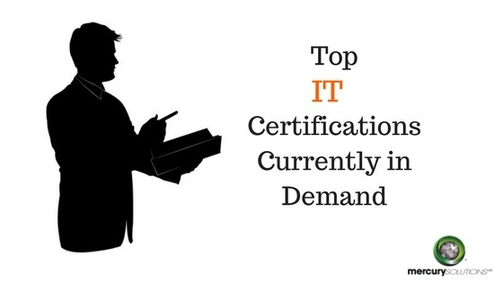 What are the top IT certifications currently in demand
