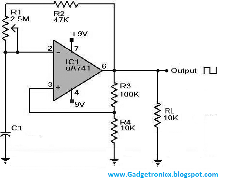 Can anyone explain the pulse width modulation circuit