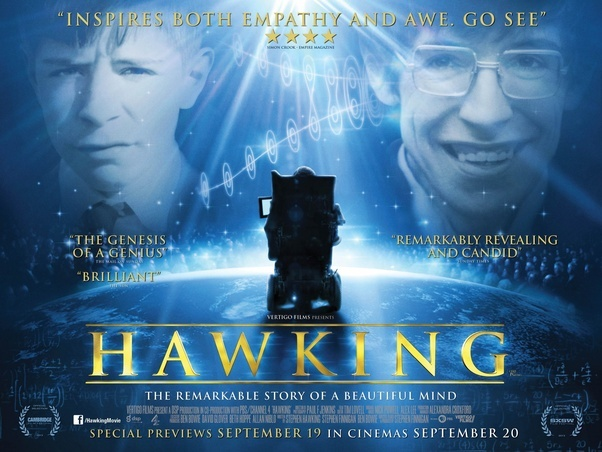 Which is the best movie made on the life of Stephen Hawking? - Quora