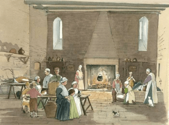 What did kitchens look like in medieval castles? Quora
